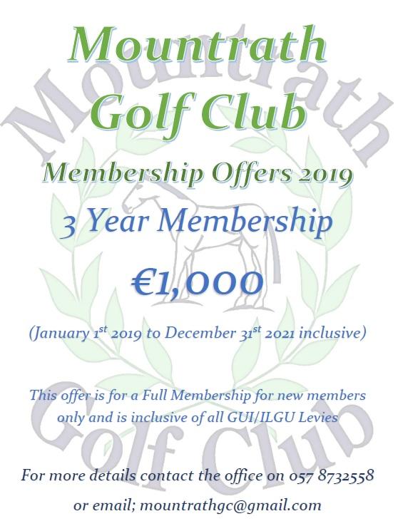 Membership Offer 2019